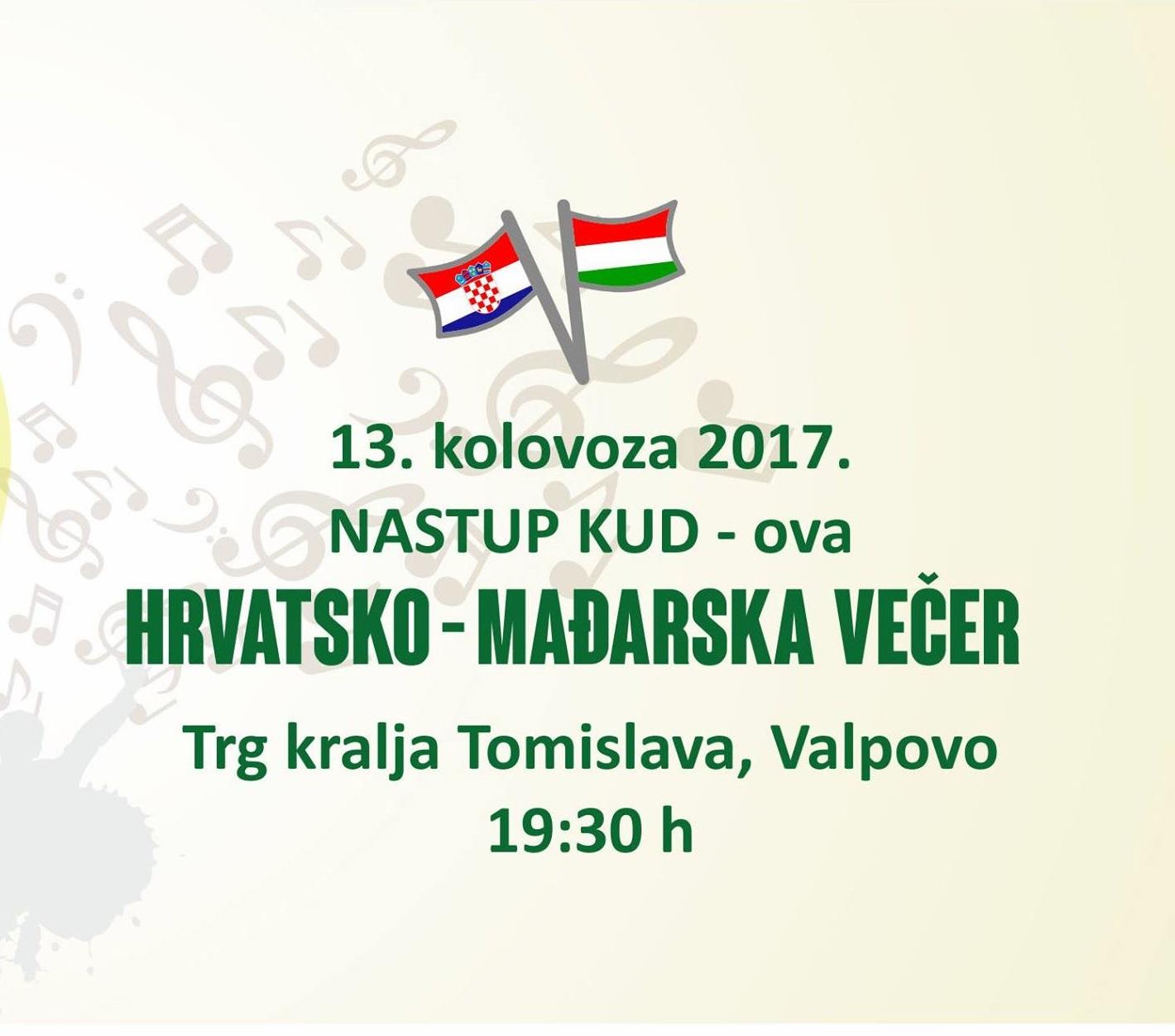 Hrvatsko-mađarska večer (Nastup KUDova)