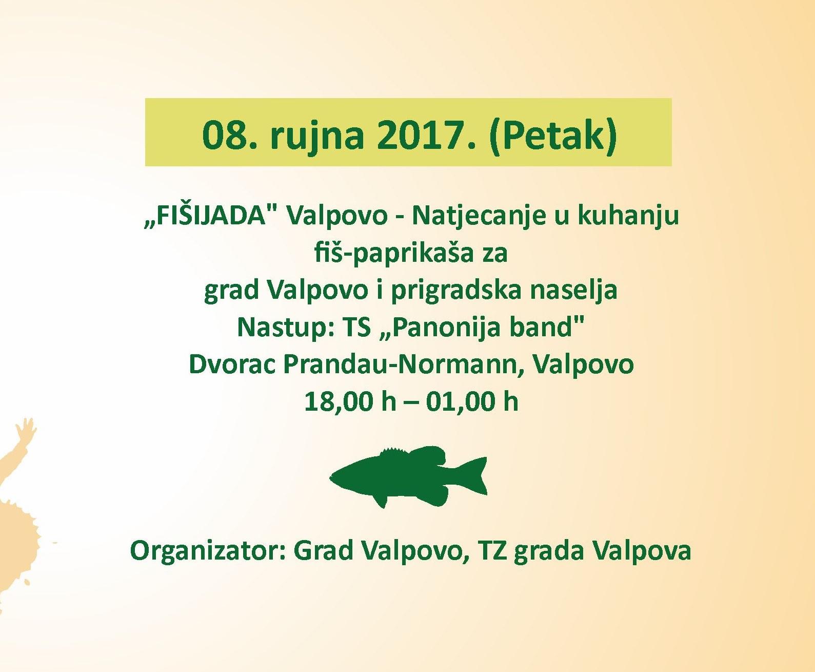 Javni poziv za sudjelovanje na natjecanju u pripremi fiš-paprikaša