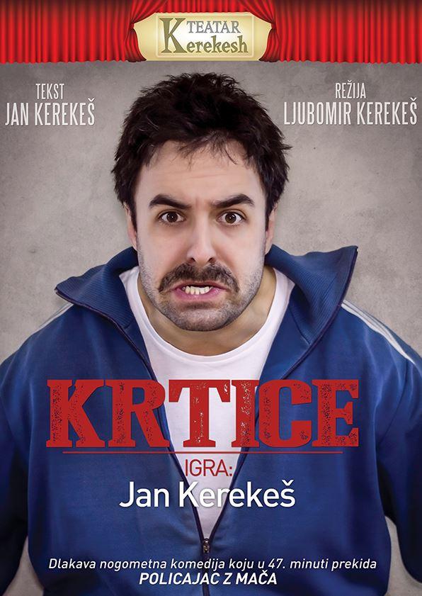 "Komedija ""Krtice"" u Centru Kulture M.P.Katančić Valpovo"