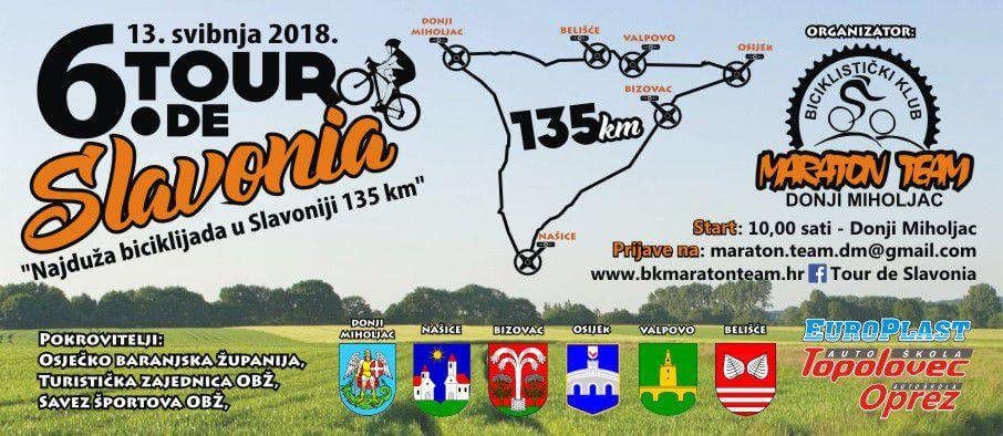 6. TOUR DE SLAVONIA – BICIKLIJADA 135 km!