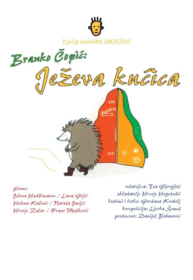 """Branko Ćopić: """"JEŽEVA KUĆICA"""""""
