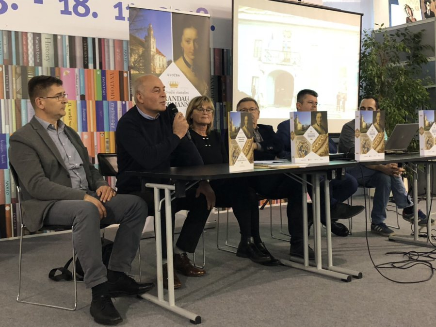 "Interliber 2018. – Promocija kataloga ""Valpovački vlastelini Prandau-Normann"""