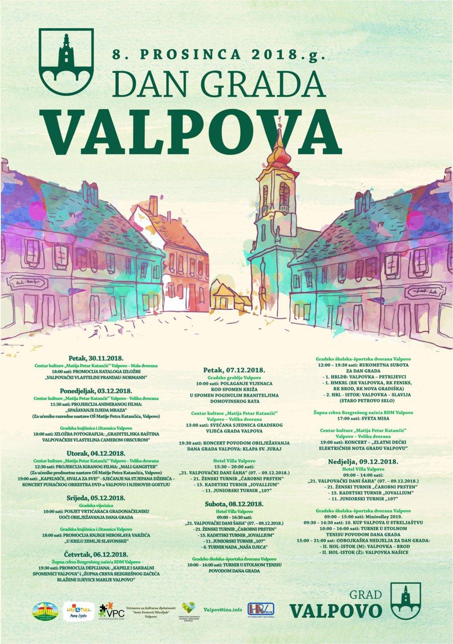 8. PROSINCA DAN GRADA VALPOVA 2018. g.