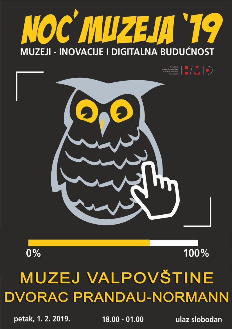 Noć muzeja 2019. u Muzeju Valpovštine