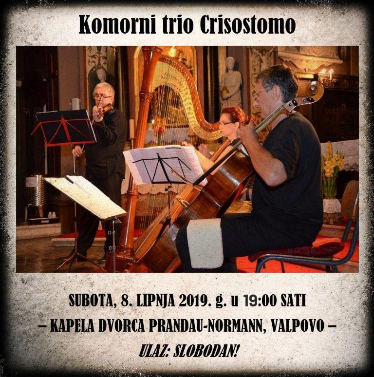 """KONCERT """" Komorni trio CRISOSTOMO """""""