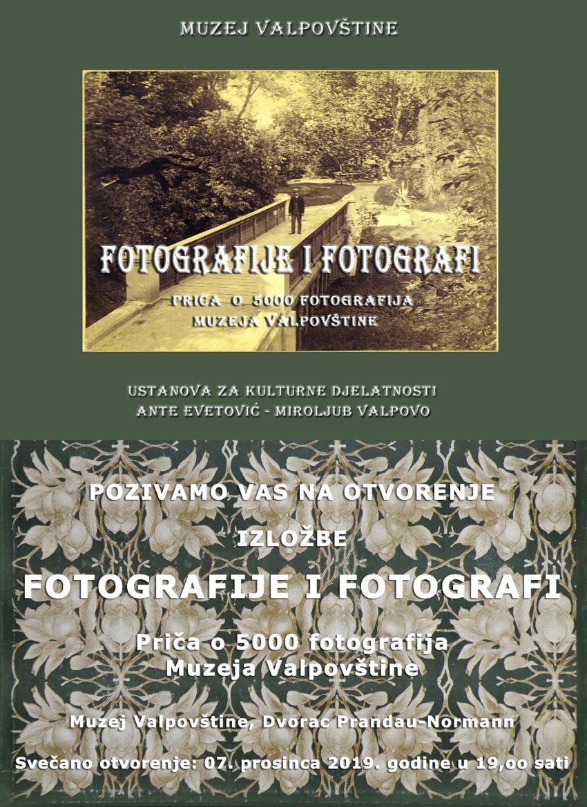 """Izložba """"Fotografije i fotografi"""" u Muzeju Valpovštine"""