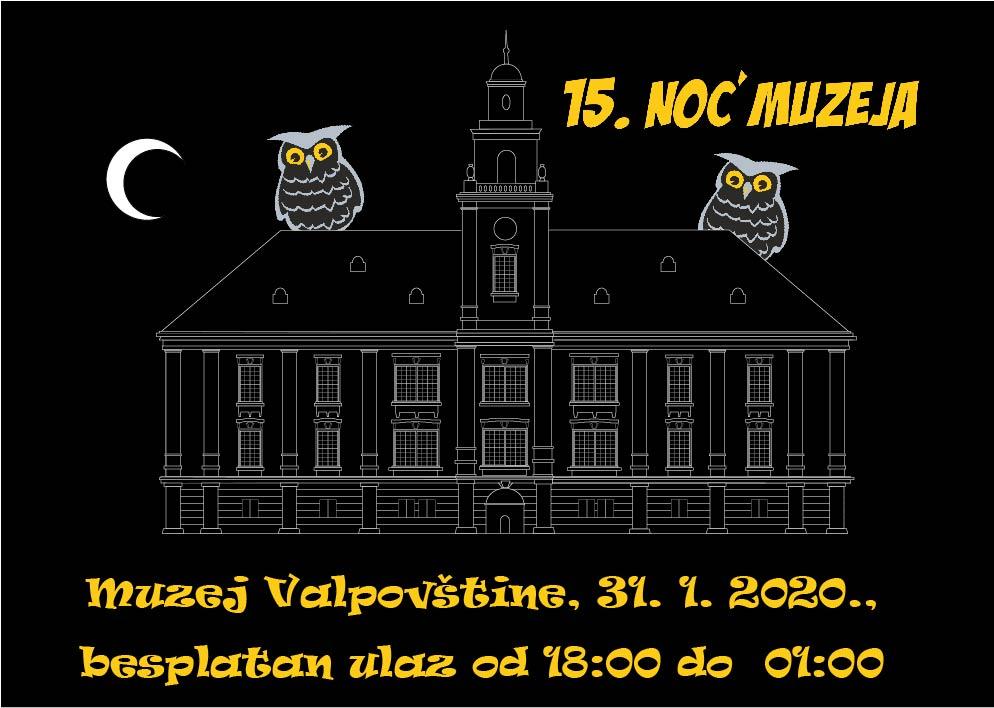 Noć muzeja 2020. u Muzeju Valpovštine