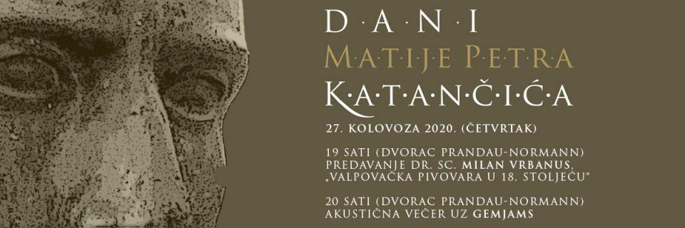 Dani Matije Petra Katančića – Akustična večer uz GemJams
