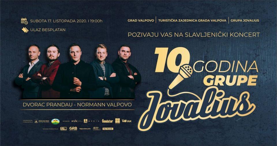 Koncert: 10 godina grupe Jovalius