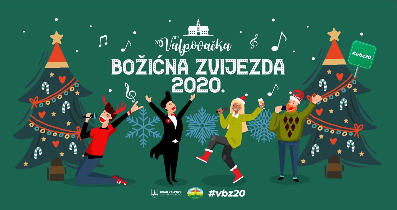 VALPOVAČKA BOŽIĆNA ZVIJEZDA 2020. – FB online glazbeni natječaj Turističke zajednice Grada Valpova