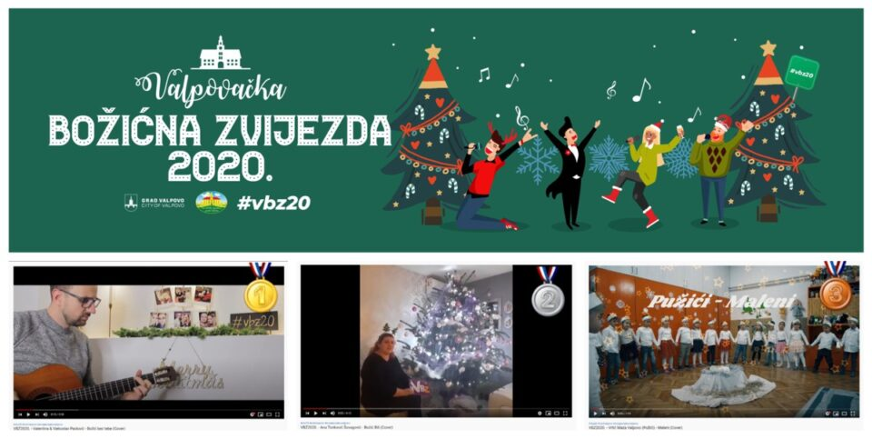 VALPOVAČKA BOŽIĆNA ZVIJEZDA 2020.  FB online glazbeni natječaj Turističke zajednice Grada Valpova. PROGLAŠENJE POBJEDNIKA!