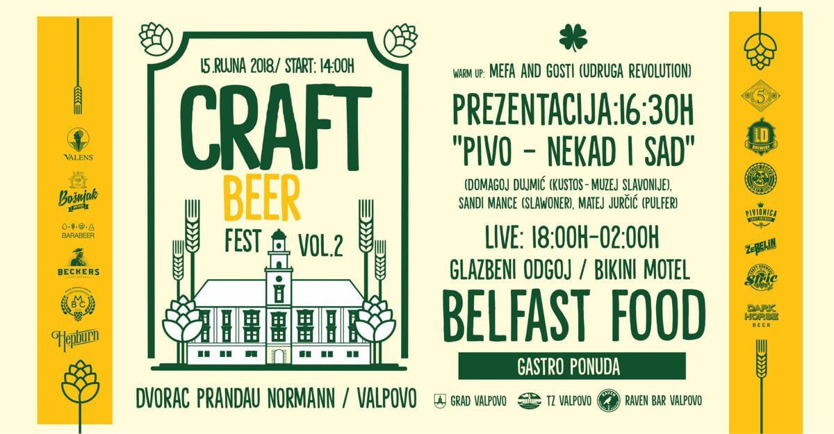 VALPOVO CRAFT BEER FEST VOL. 2