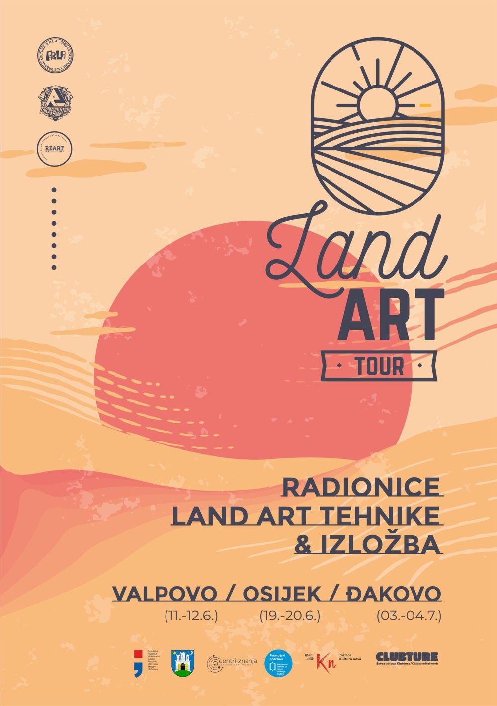 Land art tour (Valpovo, Osijek, Đakovo)