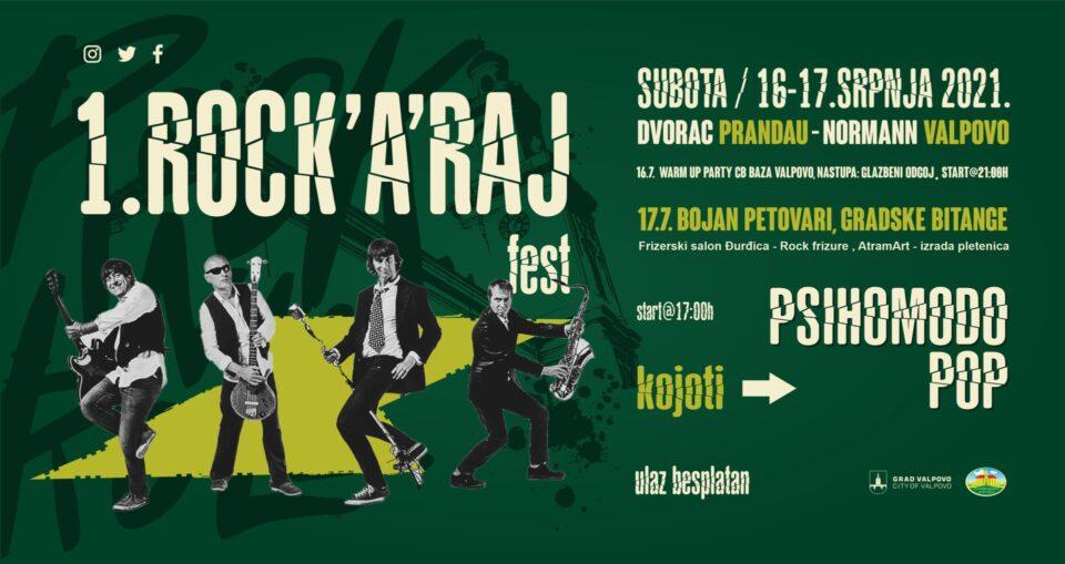 ROCK'A'RAJ FEST U VALPOVU!